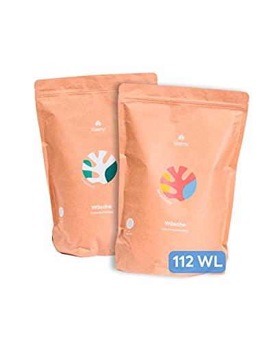 klaeny ® Nachhaltiges Waschmittel Set Color- und Vollwaschmittel (2 x 2kg)