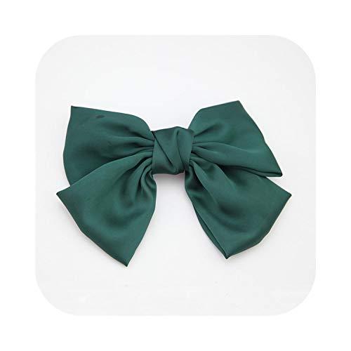 Épingles à cheveux tendance et colorées avec grand nœud - Pour filles - Cadeau idéal - Rouge/bleu/vert/noir/rose/vert