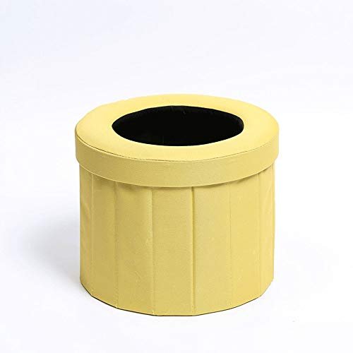 TERMALY Toilettes extérieures, Toilettes d'urgence pour Voiture Adulte, Sac d'urine Portable Pliable et Mobile, Transport d'équipement de Voiture Autonome, Facile à Nettoyer,D1