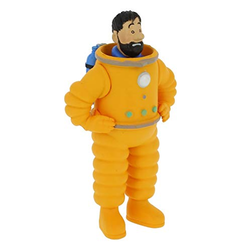 Moulinsart Collectible Figurine Tintin, Haddock in Astronaut 8cm 42507 (2019)