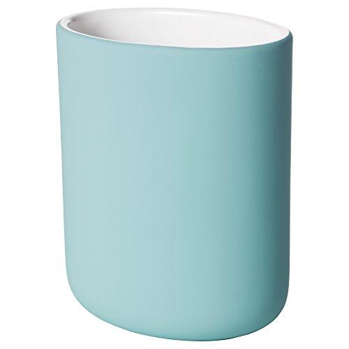IKEA Zahnbürstenhalter EKOLN Steinzeug in 2 Farben (türkis)