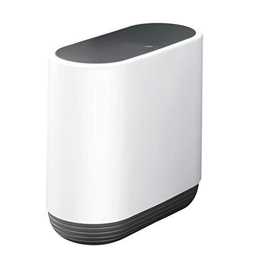 10L Sensor Bote De Basura,Gran Capacidad para El Baño De Cocina,Pulse-Tipo Papelera De Residuos Cubo Dustbin,Bloqueo Completo Cubo De Basura con Tapa-Negro. 32x15x31cm