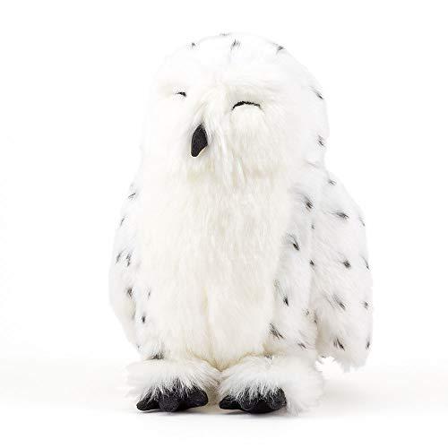 カロラータ シロフクロウ ぬいぐるみ 動物 (おやすみシリーズ) 14cm×20cm×18cm