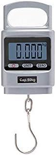 comprar comparacion Hyindoor 50kg Bascula Colgante de Mano Dinamometro Digital Portable Peso de Maleta de Alta Precisión con Carcasa de Alumin...
