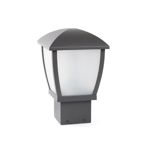 FARO - MINI WILMA Lampada sopra muro grigio scuro