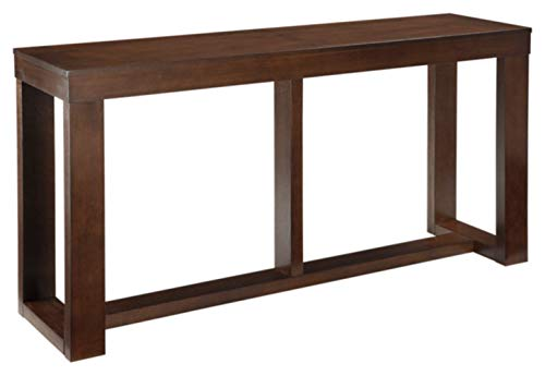 Mejor Signature Design by Ashley - Alwyndale Console Sofa Table - Casual - Antique White/Brown crítica 2020