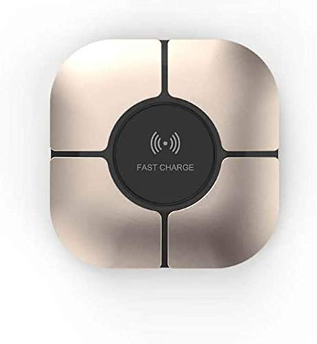 LY88 draadloze oplader Qi 10 W Wireless Charger Pad voor Samsung S10 / S9 / Note 9 / iPhone 11 Pro Max / X / XS / XS Max / XR / 8 en Qi-compatibele apparaten