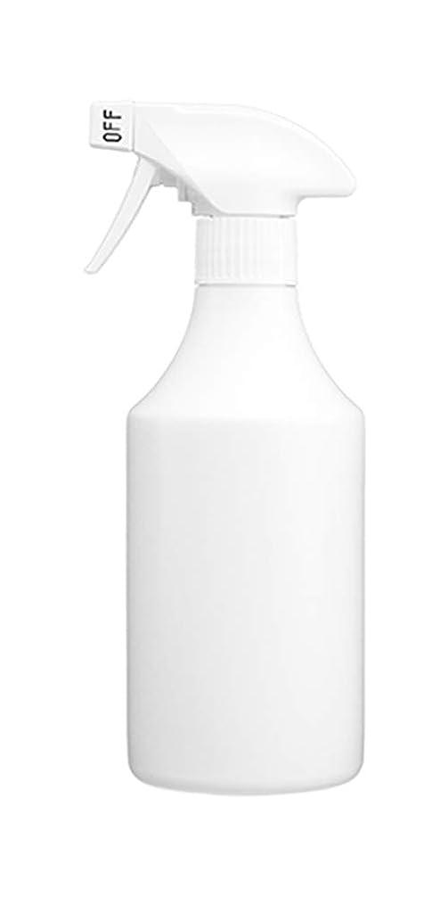 一回ライフル鉱夫スプレーボトル 500ml[詰め替えボトル?詰め替え容器?白?ホワイト?ボトル?消臭剤?除菌剤?クリーナー] (霧)