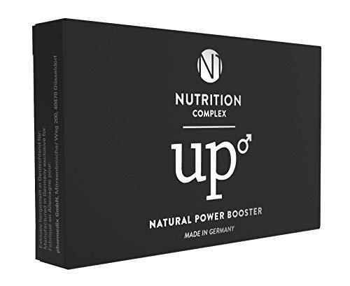 N1 up Natural Power Booster, Für den aktiven Mann, 4 Kapseln, KEIN GEWÖHNUNGSEFFEKT, 4 Stück