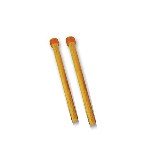 Pan Land - Baquetas para tambor metálico de Trinidad y Tobago tenor (2 unidades)