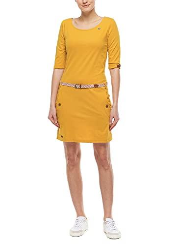 Ragwear Damen Kleid Tanya Honig XL (42)