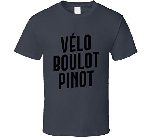 GORONYA Velo Boulot Pinot Christina Sander Camiseta Gris Carbón