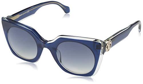 Roberto Cavalli RC1068 4892W Roberto Cavalli Sonnenbrille RC1068 92W 48 Schmetterling Sonnenbrille 48, Blau