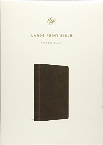 ESV Large Print Bible (TruTone, Black)