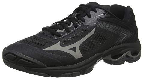 Mizuno Wave Lightning Z5, Zapatillas de Voleibol Unisex Adulto, Negro Negro Met Shadow Dark Shadow 97, 40 EU