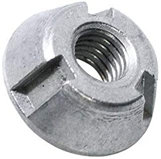 (20pcs) 8mm T-Groove Tamper Proof Security Nuts 316/A4 Stainless Steel & Installation Tool by BelMetric NTGROOVE8SET