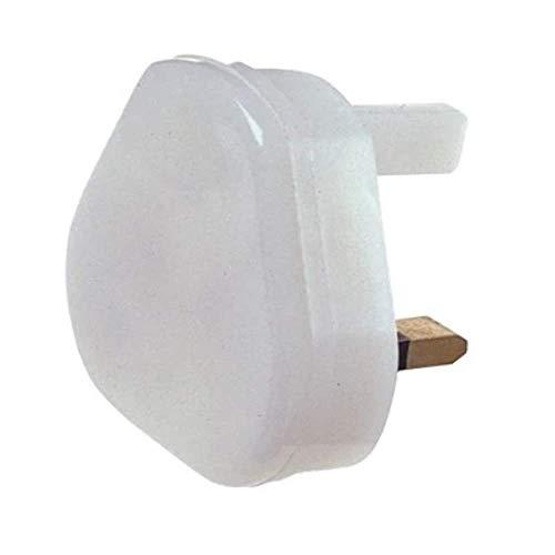 Dencon Electrical 1600 Nightlight Glow Light Plug White 5cm x 5cm