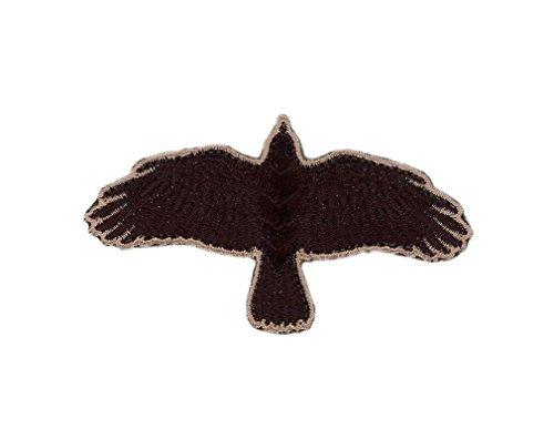 Titan One Europe - Odin Raven Flying Crow Viking Cuervo Parche Termoadhesivo