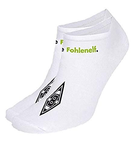 Borussia Mönchengladbach - Fohlenelf Sneackersocken Grösse 39-42