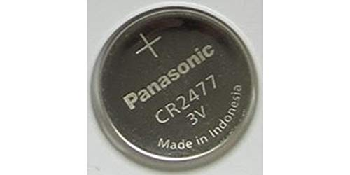 Panasonic Batterie CR2477 Lithium 3V (1 Batterie pro Packung)
