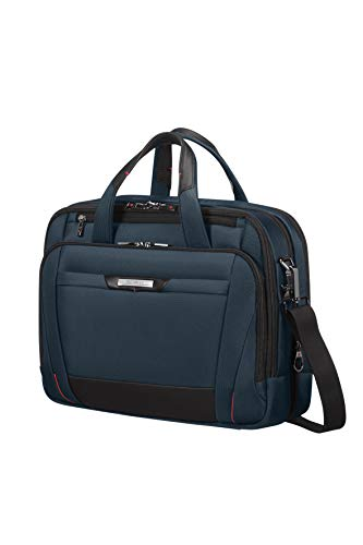 Samsonite Pro-DLX5 - Expandable Aktentasche, 42 cm, 23.0 Liter, Oxford Blue
