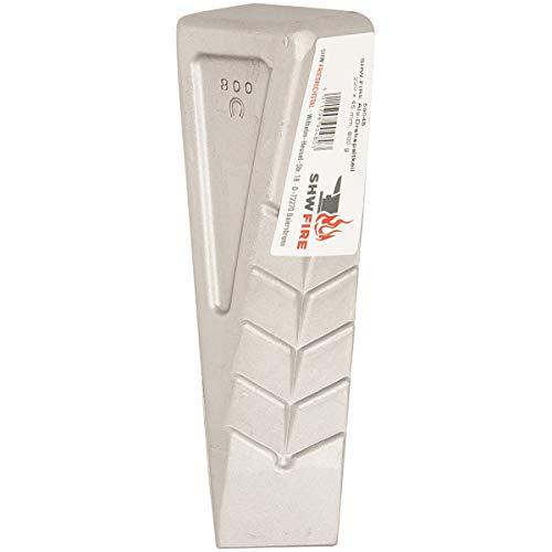 SHW-FIRE 59048 Alukeil Spaltkeil Drehspaltkeil Keil Aluminium Geschmiedet 21 cm lang 800g