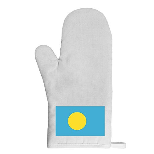 Mygoodprice Ofenhandschuh Topflappen Flagge Palau