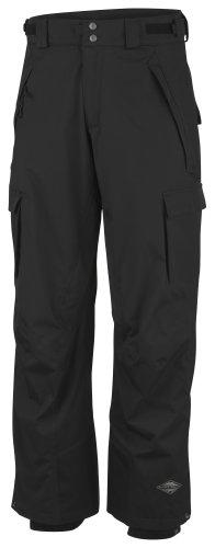 Columbia Ridge - Pantalones de esquí y Running para Hombre, tamaño S, Color Noir Mini Check