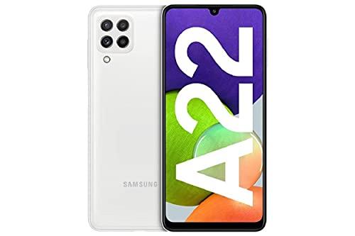 Samsung Galaxy A22 - Smartphonelibrecon 6.6 Pulgadas y Sistema Operativo Android Blanco Versión ES