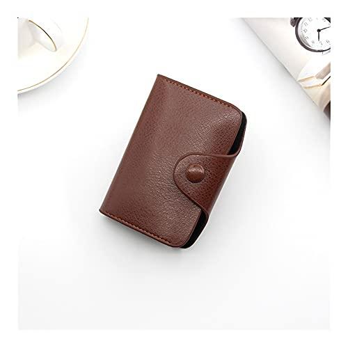 tarjetero Titular de la tarjeta de cuero Unisex Titular de la tarjeta de crédito Billet Bank Tarjeta de crédito Caja de la tarjeta ID Holders Men & Women Cardholder Carte Titular de los casos de tarje