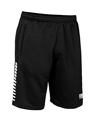 Derbystar Hyper Bermudashort Unisex Shorts, schwarz Weiss, XXL