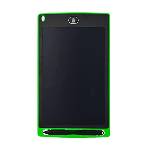 Morninganswer Tablero de Dibujo de Escritura Creativa de 8.5 Pulgadas Bloc de Notas Tableros gráficos LCD Digitales Verde Verde
