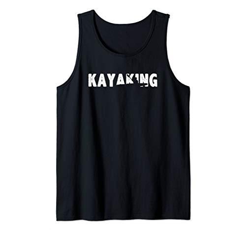 Kayaking - Kayaker - Kayak - Rafting - Cool Kayaking Tank Top