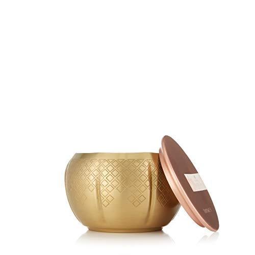Thymes Gold Candle - 9 Oz - Heirlum Pumpkin