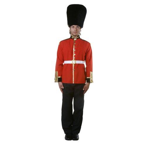 Dress Up America Disfraz de Soldado de Guardia Real Adulto Atractivo