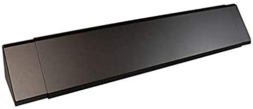 Empire Comfort Systems Black Adjustable Fireplace Hood for 28 to 48' Harmony Burners