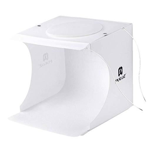 Morza PULUZ 20 LED Portatile Pieghevole Piccolo Foto Luce White Box per Giocattoli/Guarda / Gioielli/Piccoli Articoli