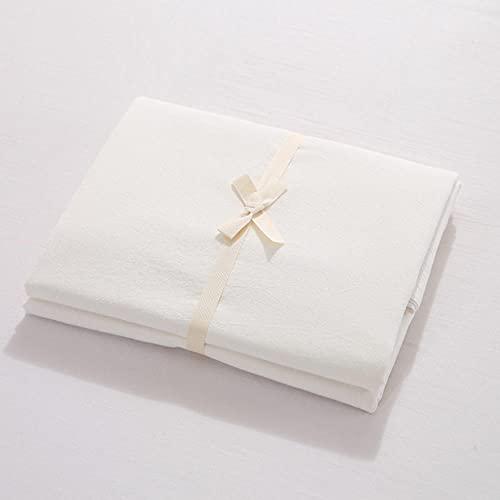 HPPSLT Protector de colchón de bambú Funda de colchón y Ajustable Sábana de algodón de una Sola Pieza a Prueba de polvo-11_150 * 200cm