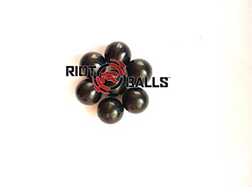 500 Count X 0.43 Cal. PVC/Nylon Riot Balls Self Defense Less Lethal Practice Paintball