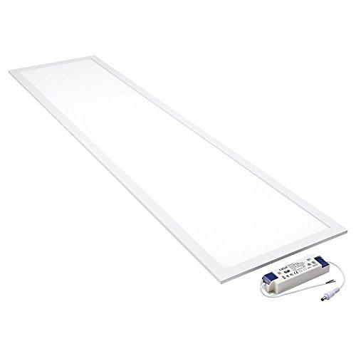 Plafón LED–losa luminosa 30x 120cm 40W luz blanco frío