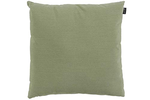 Hartman Samson Zierkissen in grün, Sofakissen Sunbrella-Textil, Deko-Kissen 45x45cm, Outdoor Polster für Gartenmöbel