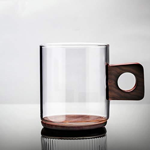 LRW Japanse Transparant Glas Mug Coffee Mug Juice Mug Repast Tea Mug -360ml
