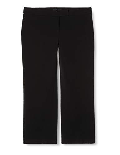 Amazon-Marke: find. Damen Weite Anzughose, Schwarz, 38, Label: M