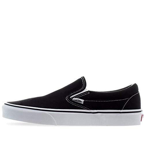 Zapatillas Vans Slip On Black/White