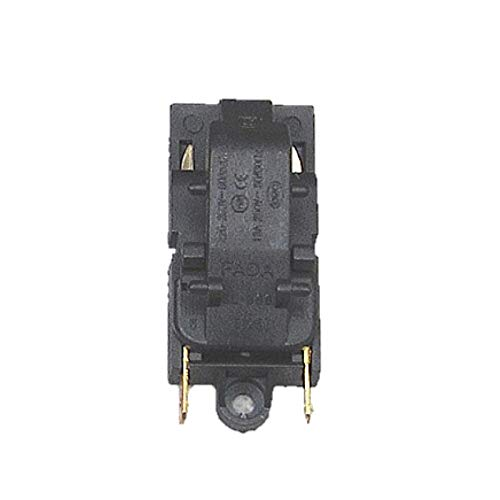 WXX Hervidor eléctrico del termostato Interruptor 2 Pin Terminal Aparato de Cocina de Piezas (A) (Color : B)