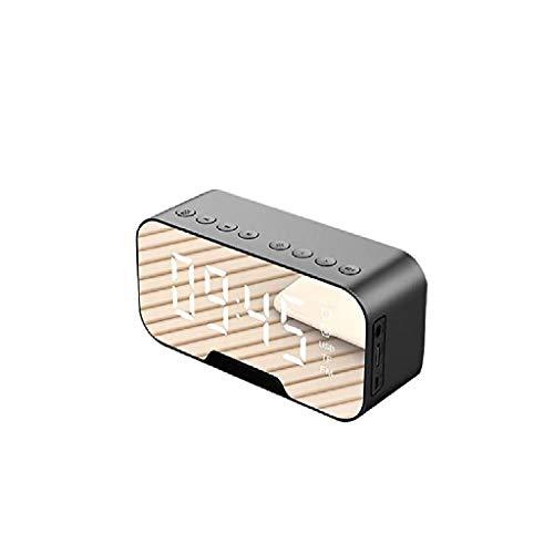 ZYING Gran Pantalla LED Dimmer, Cargador USB, Alarma de vibración del Reloj de Cama, la Pared del Dormitorio de Techo Almohada