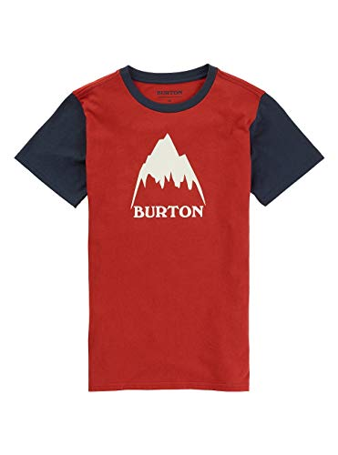 Burton Jungen Classic Mountain High T-Shirt, Tandori, L