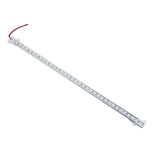 SODIAL(R) Tira Lampara Rigida Aluminio para Bar 50CM 5050 SMD 36 LED Blanco Calido