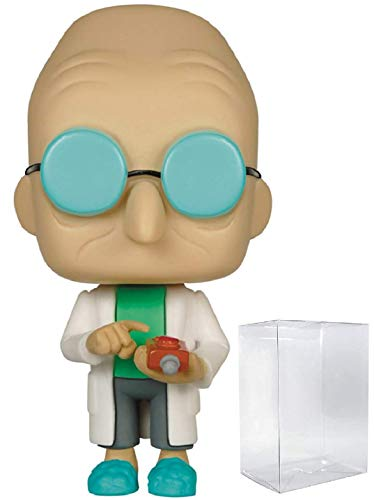 Funko Pop! Animation: Futurama - Professor Farnsworth Vinyl Figure (Includes Compatible Pop Box Protector Case)