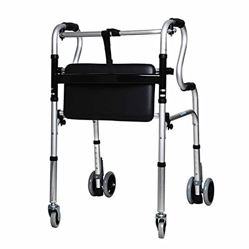 Rollator Gehhilfen Senioren Schwerlast Aufrechte Gehhilfen Für Große Senioren Maximale Höhe 1,8 M/71